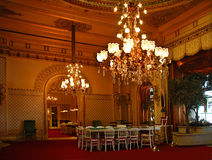 Baden-Baden. Magnificent hall of the casino. Stock Photography