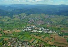 Baden-Baden Steinbach Spring-Antenne Lizenzfreie Stockbilder