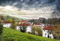 Baden-Baden before the storm Royalty Free Stock Photography