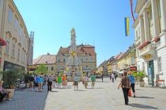Baden bei Wien, Österrike Arkivfoto