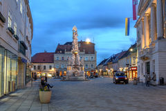 Baden bei Wien, Österrike Royaltyfri Fotografi