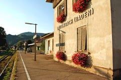 baden den germany lautenbachstationen Royaltyfri Foto