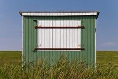 Baden der Hütte Stockbild