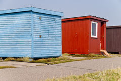 Baden der Hütte Stockfoto