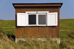 Baden der Hütte Stockbilder