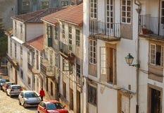 Baden im Nachmittag sonnen- Santiago de Compostela lizenzfreie stockfotos