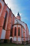 Baden Baden kyrkaStiftskirche Tyskland Royaltyfri Bild