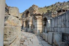 Baden van Scholastica, Ephesus Royalty-vrije Stock Afbeeldingen