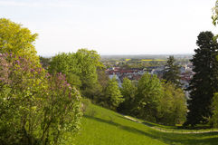 Baden. View to Baden town landscape. Austria. Europe Royalty Free Stock Photo