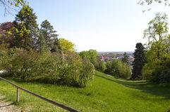 Baden. View to Baden town landscape. Austria. Europe Stock Images