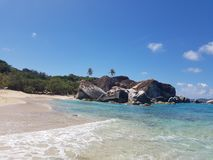 Baden, Virgin Gorda arkivbilder