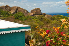 Baden, Virgin Gorda, BVI Royaltyfria Bilder