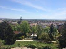 Baden widok, Wiedeń szlachectwa lata odwrót Obraz Royalty Free