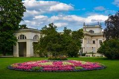 Badenpark stock afbeelding