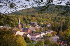 Badenweiler in the Black Forest royalty free stock photos