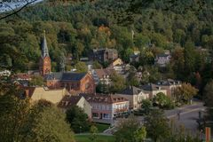 Badenweiler in the Black Forest royalty free stock image