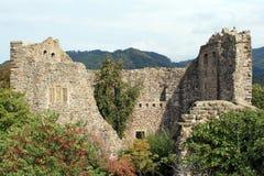 Badenweiler Castle. Castle of Badenweiler in Germany Stock Photo