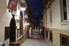 Badeort Sitges auf Costa Dorada, Spanien Stockfotos