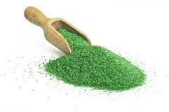 Badesalzgrün stockfoto