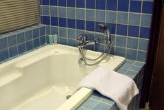 badet badar Arkivfoton