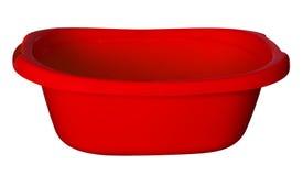Badet badar - rött Arkivfoton