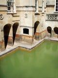 badet badar roman royaltyfria bilder
