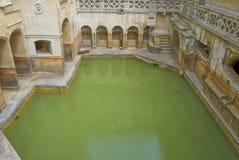 badet badar roman england royaltyfria foton