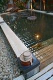 badet onsen Royaltyfri Bild