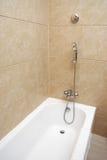 Badewanne und Dusche lizenzfreies stockfoto