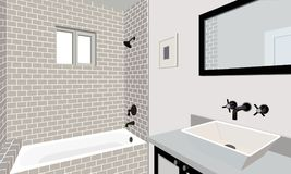 Badezimmer Lizenzfreie Stockbilder