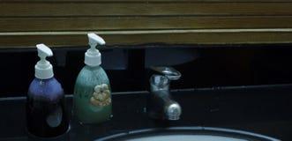 Badezimmer-Annehmlichkeiten Stockbild