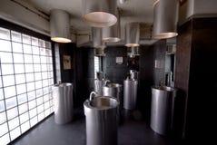 Badezimmer in electricyty Stockbild