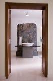 Badezimmer enterance Stockbild