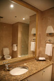 Badezimmer im Marmor Stockfoto