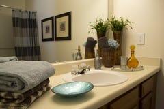 Badezimmer-Innenraum Lizenzfreie Stockfotos