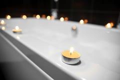 Badezimmer, Kerzen Stockfotos