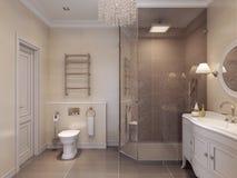 Badezimmer in klassischem style Stockfoto