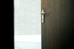 Badezimmer Tür Lizenzfreies Stockfoto