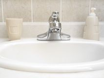 Badezimmer-Wanne 2 Stockfotos
