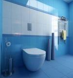 Badezimmer-WC-Szene lizenzfreie abbildung