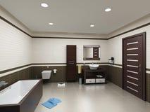 Badezimmerinnenraum vektor abbildung