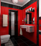 Badezimmerinnenraum Lizenzfreies Stockfoto
