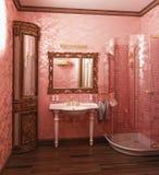 Badezimmerinnenraum Stockbild