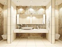 Badezimmerinnenraum Lizenzfreie Stockfotos