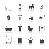 Badezimmersatz lizenzfreie abbildung