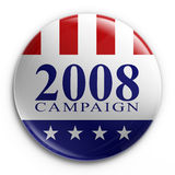 Badge - 2008 election. 3d rendering of a badge for the 2008 presidential election Stock Photography
