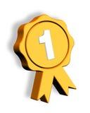 Badge. Winner badge on isolated background Stock Image