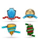 Badge2 Lizenzfreie Stockbilder