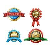 Badge3 Lizenzfreie Stockfotos