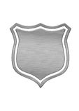 Badge. Under the background of white Royalty Free Stock Images
